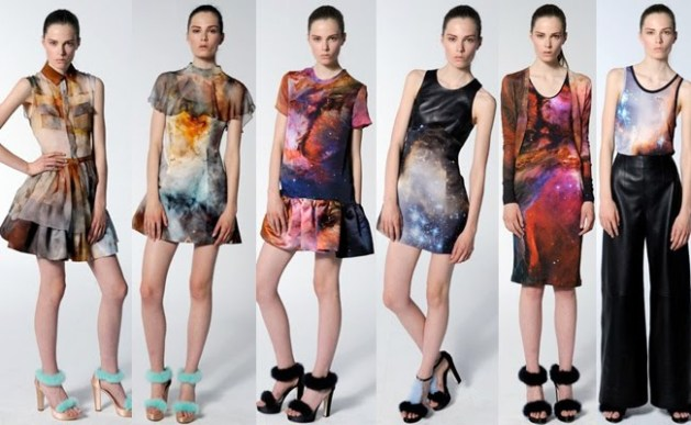 Christopher Kane Galaxy Inspired Collection Resort 2011