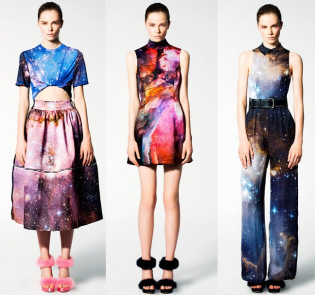 Christopher Kane Galaxy Inspired Resort 2011 Collection