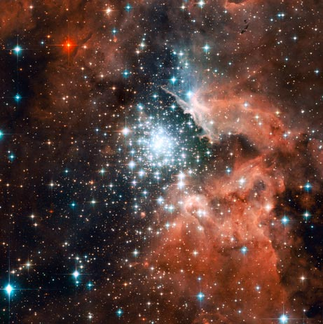 Galaxies Outer Space Stars Nebulas Outerspace Red Stars Image