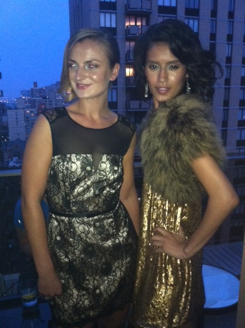 Stephen Mikhail Resort 2012 Fashion Show Back Stage Models Gansevoort Park Hotel Penthouse Chance Tv