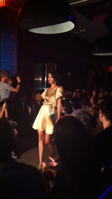 Stephen Mikhail Resort 2012 Fashion Show Model On The Runway Gansevoort Park Hotel Penthouse Chance Tv
