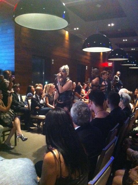 Stephen Mikhail Resort 2012 Fashion Show Sasha Singer Sasha Now Performance Models Gansevoort Park Hotel Penthouse Chance Tv