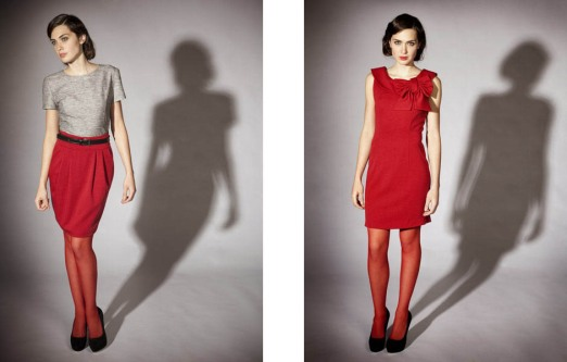Carrie Parry Fall 2011 Collection Sustainable Designer Red Dress