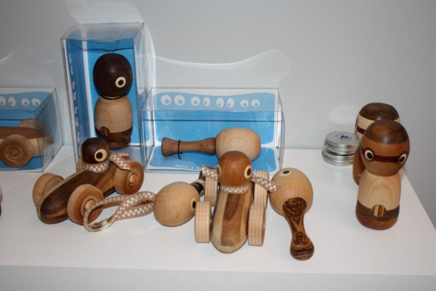 Teich Store Display Hand Carved Wood Toys
