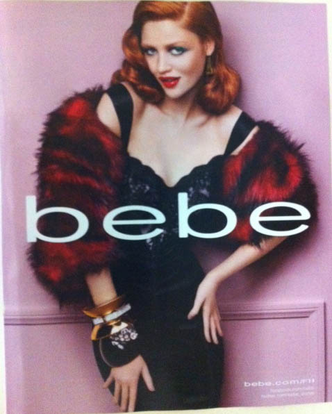 Bebe Fall 2011 Campaign True Blood Vampire