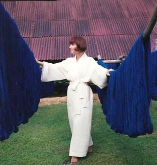 Carmen Artigas Kimono Robe India