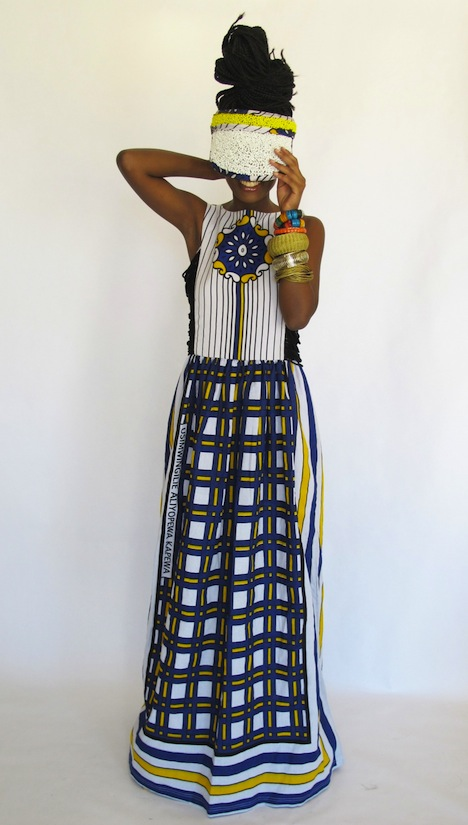 Chichia For Made By Africa Fashion Collection Innovation Award Winner Ethical Fashion Forum Dress