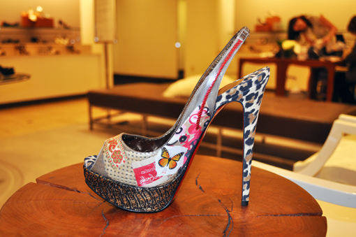 Christian Louboutin Ecotrash Platform Slingback Shoes 3