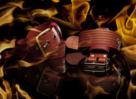 Elvis And Kresse Fire Hose Belt