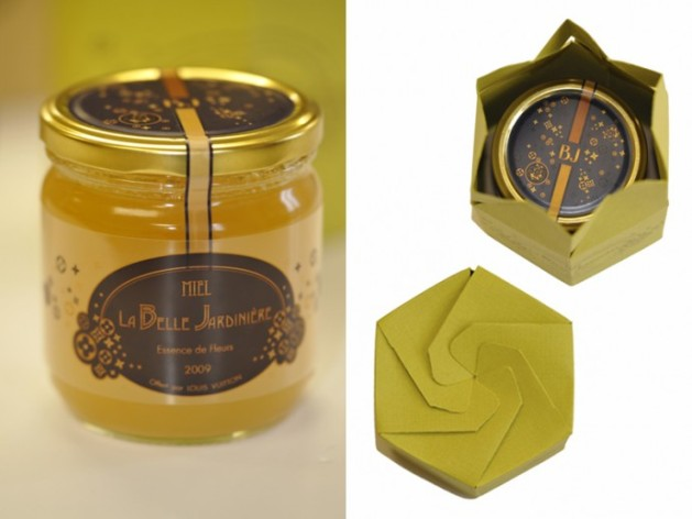 Louis Vuitton Harvesting Honey Jars Packaging