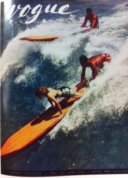 Vogue Cover 1930s Surfing