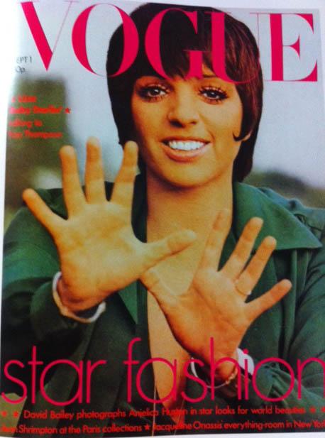 Vogue Cover 1970s Liza Minnelli