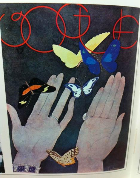 Vogue Covers 1920s Butterflies
