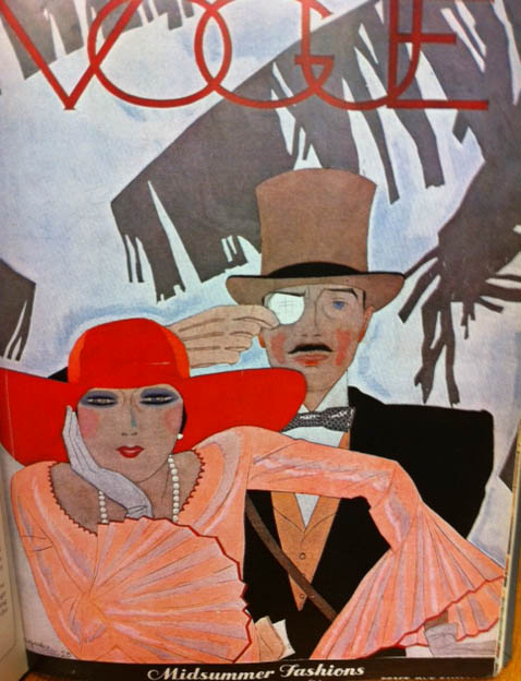 Vogue Covers 1920s Woman And Man