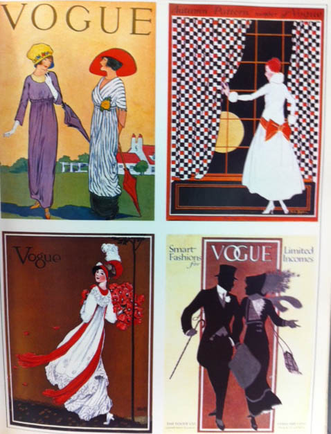 Vogue Covers 1940s