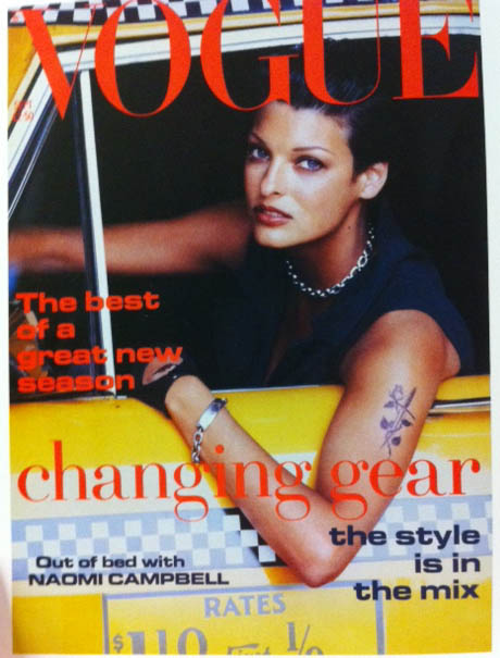 Vogue Covers 1990s Model In Cab September 1992