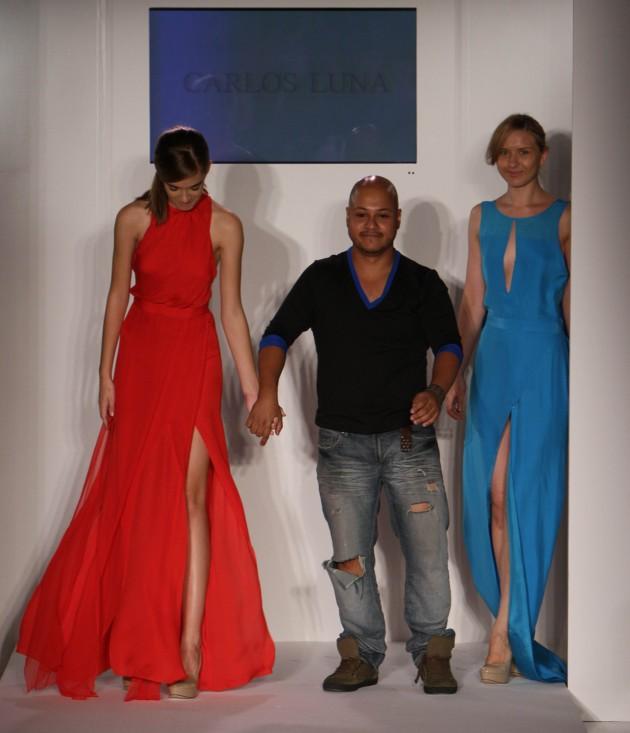Carlos Luna Spring 2012 Nolcha Fashion Week Designer