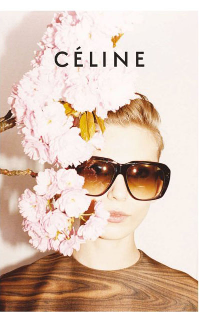 Celine Fall 2011 Campaign Juergen Teller Wood Blouse