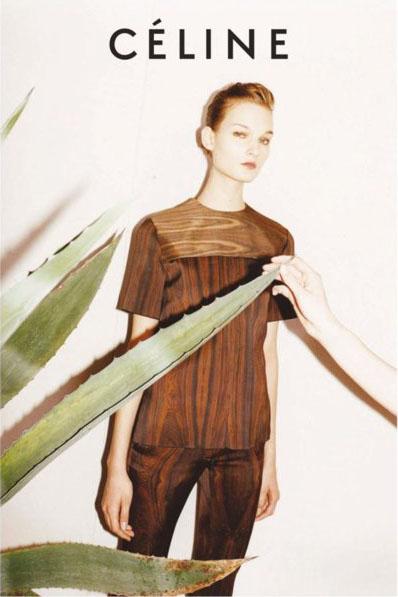 Celine Fall 2011 Campaign Juergen Teller