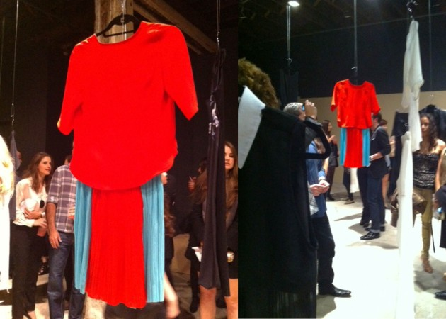 Daniella Kallmeyer Spring 2012 Red Outfit