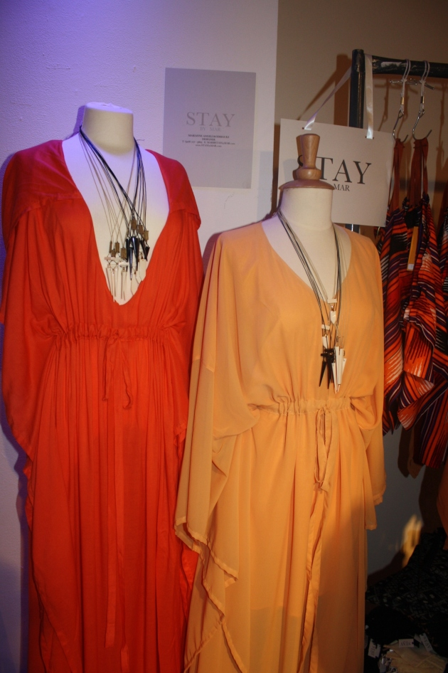 Stay By Mar Spring 2012 Nolcha Fashion Week Red Orange Dresses