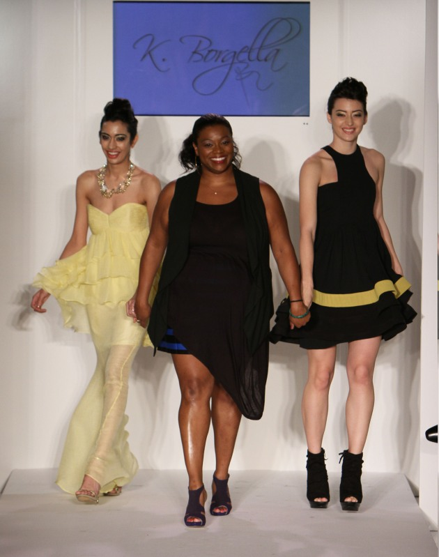 K. Borgella Spring 2012 Nolcha Fashion Week Designer