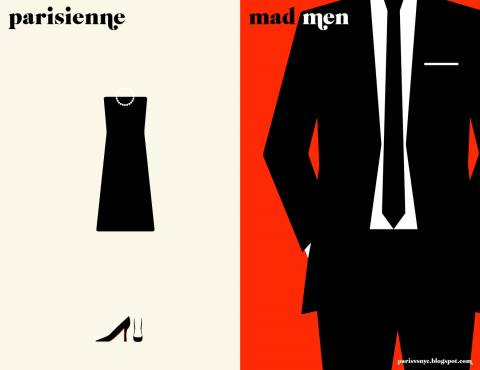 Paris Versus New York Parisienne Versus Mad Men