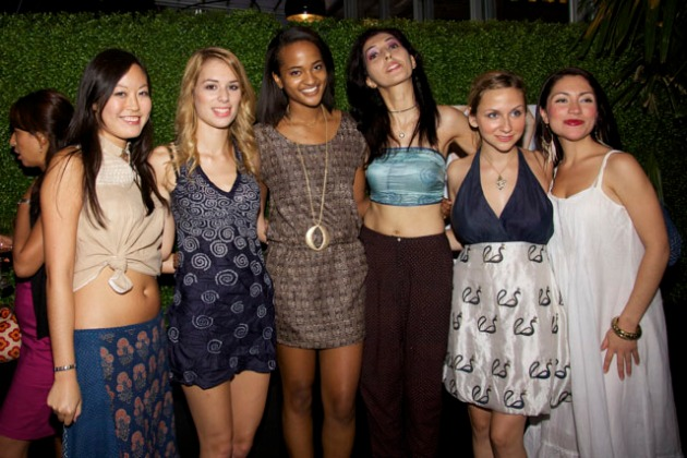 Soham Dave Fashion Show Eventi Hotel New York Fashion Week Spring 2012 Group Picture
