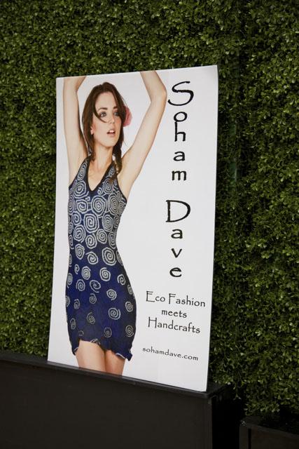 Soham Dave Fashion Show Eventi Hotel New York Fashion Week Spring 2012 Poster
