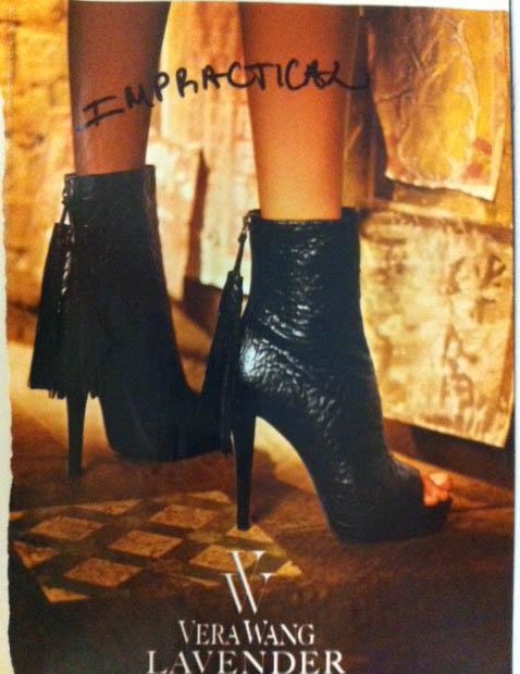 Vera Wang Fall 2011 Boots