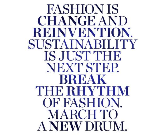 Fashion Is Change And Reinvention