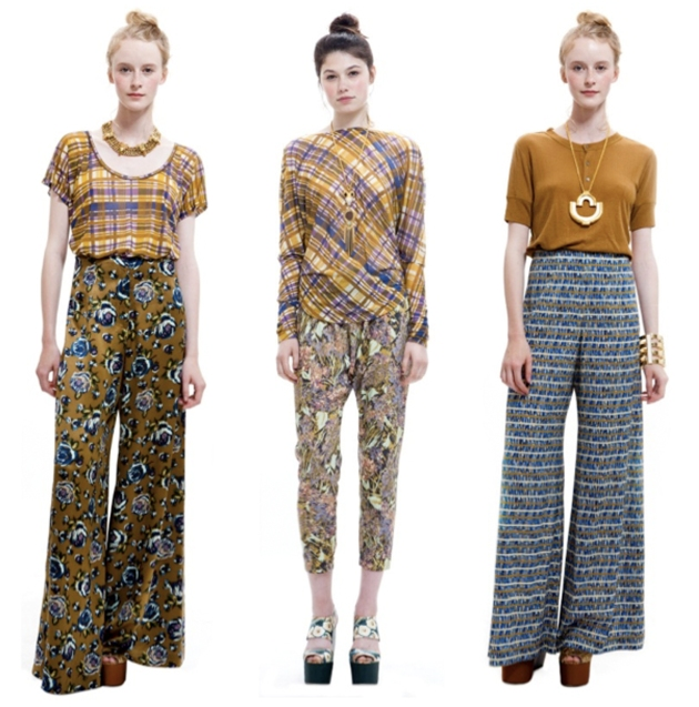 Suno Printed Pants Fall 2011