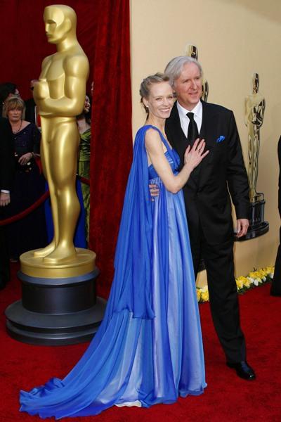 James Cameron Suzy Amis 82nd Oscars Red Carpet Photos