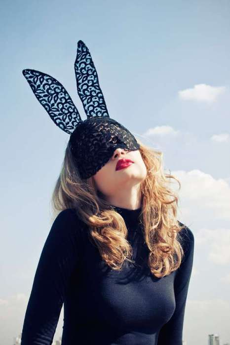Larissa Felsen Lace Bunny Ears Photo