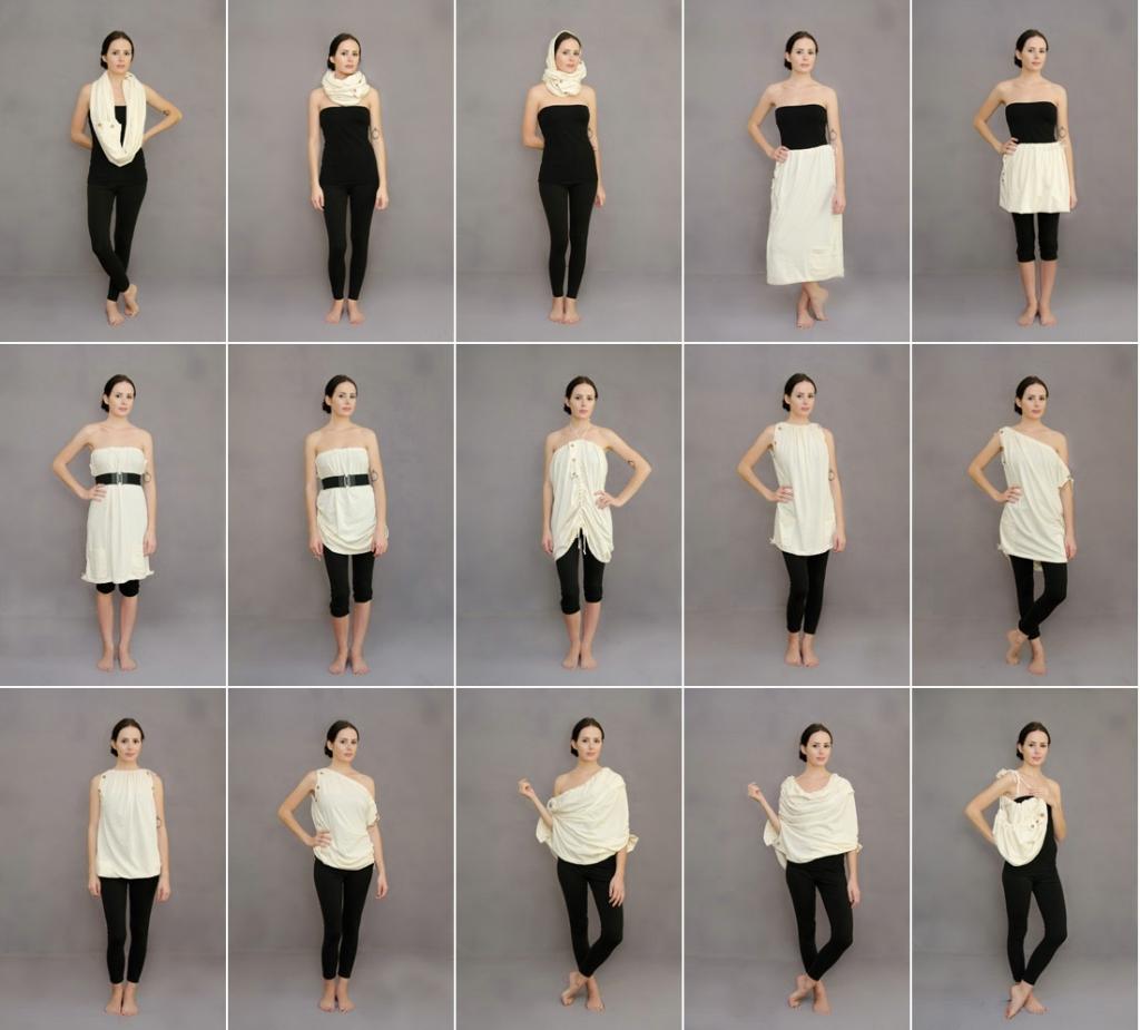 Revolution Apparel Versalette 15 Ways To Wear