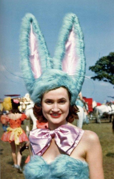Showgirl Barnum Bailey 1946
