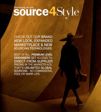 Source4Style Website Re-Lauch