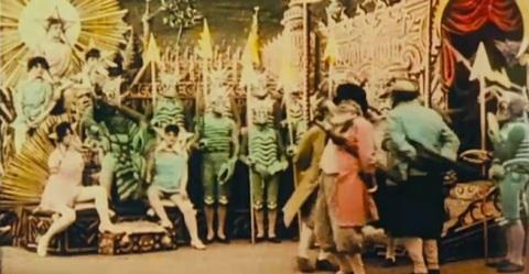 Le Voyage Dans La Lune  A Trip To The Moon Georges Melies Movie Still 5