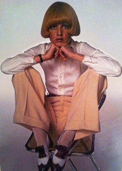 Vintage Style Ladylike Suit Pants Twiggy 1972