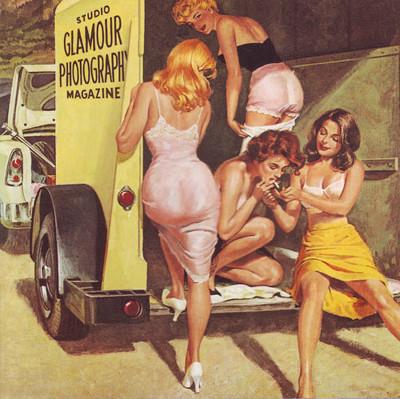 Art Beautiful Vintage Women