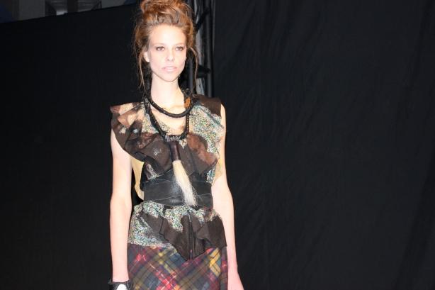 NY Fashion Week Artists & Revolutionaries Fall 2012 Green Shows Presentation