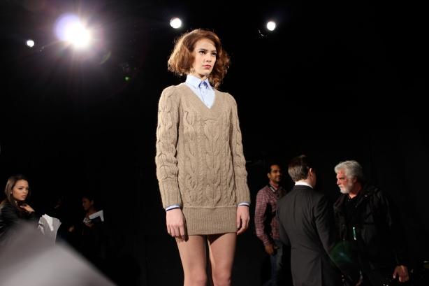 NY Fashion Week Anja Fall 2012 Green Shows Presentation