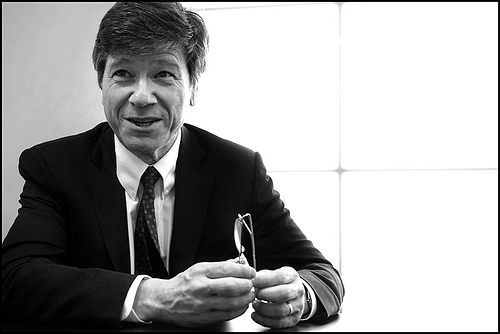Jeffrey Sachs Sustainable Economist Columbia University The Earth Institute NYC