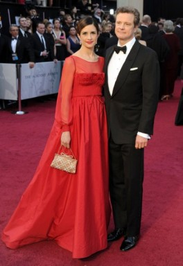 Livia Firth Oscars Wears Sustainable Valentino Gown