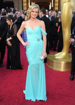 Missi Pyle Oscar Dress 2012 Red Carpet Green Dress Contest Sustainable Red Carpet Dress 2