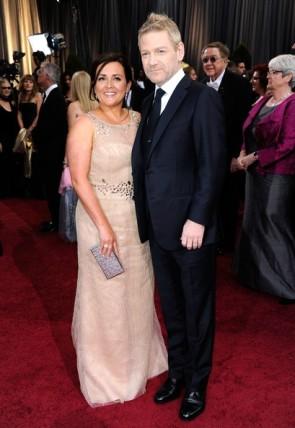 Oscar Nominee Kenneth Branagh Ermenegildo Zegna Eco Friendly Merino Wool Navy Made-to-Measure Tuxedo