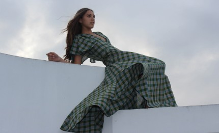 Francisca Pineda Dress Design DYI with IOU Design Contest