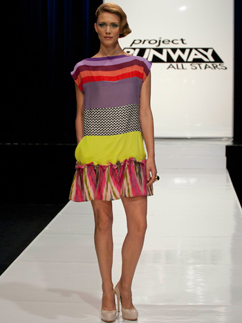 Nanette Lepore Fabric Project Runway All Stars Dress