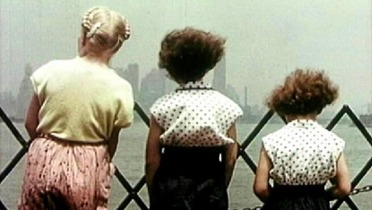 Girls Looking At River New York City 1967
