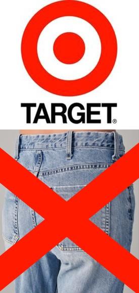 Target Bans Sandblasted Denim